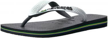 Women S Shoe Size Chart Brazil Havaianas Womens Brazil Mix Sandal Flip Flop Black White