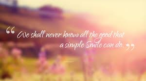 Quotes on smile 100 Beautiful Inspiring Smile Quotes The Fresh Quotes 7