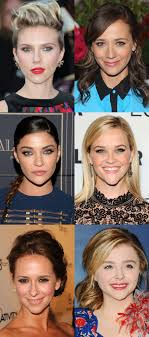 inverted triangle face shape celebrity exles