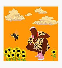 tyler the creator flower boy photographic print on wall art redbubble with tyler the creator wall art redbubble