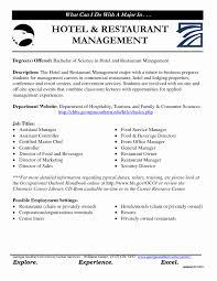 Resume Format For Hotel Management Jobs Sample Resume Format For Hotel Industry Best Of Hotel Management 12