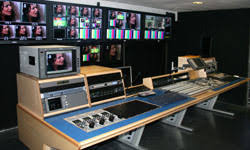 tv studio furniture. Custom Consoles Furniture Chosen For Cosmos Television, Romania Tv Studio
