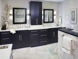 Bathroom Remodel Hardware With Black Cabinets Black Cabinets Bathroom Bathrooms Remodel Black Bathroom