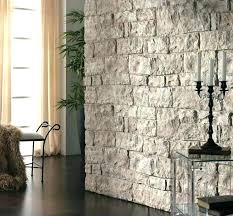 fake stone wallpaper faux interior medium image for large size of artificial wall panels border co