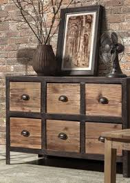 industrial rustic design furniture. Zuo Modern Fort Mason 6 Drawer Sideboard - Distressed Natural Big On Storage Space And Industrial Chic Design, The Rustic Design Furniture