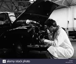 Jp Walters Design Auto Electrician Changing A Light Bulb On A Morris Minor