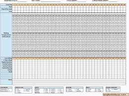Free Fertility Charts To Print By Spring Moon Fertility