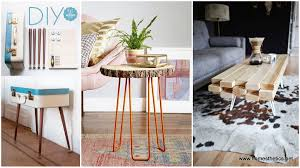 15+ Beautiful Cheap DIY Coffee Table Ideas