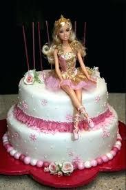 Barbie Birthday Cakes Barbie Princess Personalised Edible Icing Or