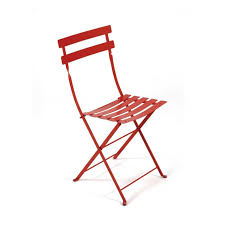 stylish outdoor cafe chair with 10 easy pieces red caf chairs gardenista