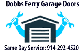 dobbs ferry garage doors logo