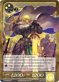 1 x arthur pendragon king of the round table