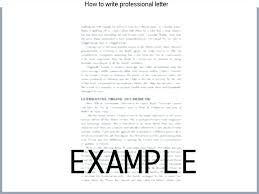 how to write a professional letter professional letter writing format new request examples sample fresh
