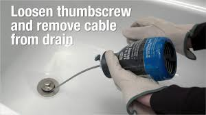 how to clear a clogged drain using cobra skinny snake