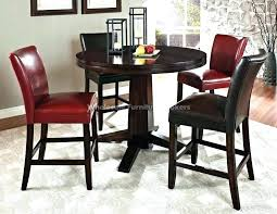 round counter height dining table set round counter height dining sets round counter height table and