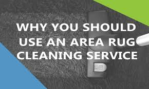 why you should use a area rug cleaning