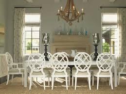 tommy bahama ivory key castle harbour dining table set