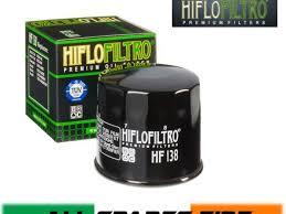 Hiflo Oil Filter Fitment Chart Hiflo Hf138 Motorcycle Oil Filter Suzuki Bandit Gsf600 95 04