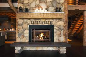 gas log fireplace insert installation difference between and wood burning perth