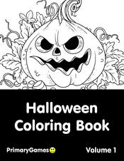 This means you can print and use them as many times as you'd like for yourself. Halloween Coloring Pages Free Printable Pdf From Primarygames