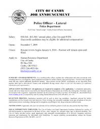 Cover Letter Resumes Best of Resume For Law Enforcement Cover Letter Lateral Police Officer R Sevte