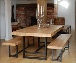 Narrow dining table with bench Dining Room Trespasaloncom Dining Room Tables With Benches New Narrow Dining Table