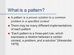 What Is A Pattern Awesome Fluid Design Patterns Allison Bloodworth JASIG Unconference 4848
