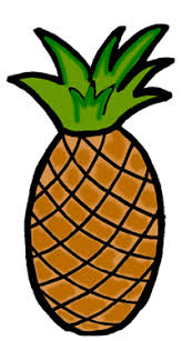 black and white pineapple png. pineapple clipart black and white png