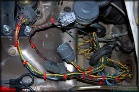 how to diy wire tucking engine bay side harnesses for '94 '01 3rd honda civic engine wire harness at Honda Engine Wire Harness