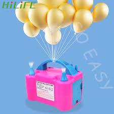HILIFE Bóng Bơm Hơi Bơm EU Cắm Điện Máy Thổi Khí Máy Nén Cao Cấp 2 Đầu Phun  Bong Bóng Bơm Bể Bơi|Ballons & Accessories