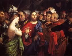 lorenzo lotto christ and the eress