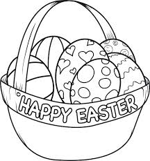 Christian Easter Coloring Pages Colouring Pages For Toddlers Basket