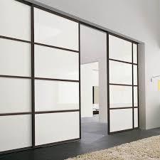 sliding door with glass and aluminium