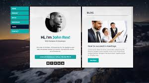 Cards Personal Vcard Resume Cv Portfolio Wordpress Theme By