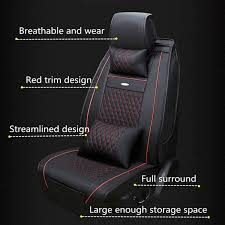 2 x front seat cushion 1 x backrest long sear cushion 2 x backrest cushion 2 x waist pillow 2 x head pillow 1 x central armrest cover 1 x rear central head