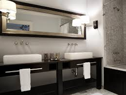 bathroom 2017 best small bathroom with long mirror near chic