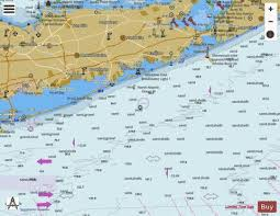 Shinnecock Bay Nautical Chart Shinnecock Light To Fire Island Light Marine Chart
