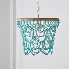 sea glass chandelier. Beaded Seaglass Pendant Sea Glass Chandelier S