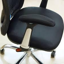 bluecosto soft neoprene office chair arm cover armrest pads black small set of 2