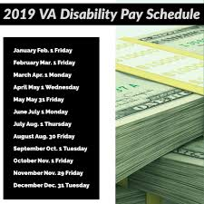 2019 Va Disability Compensation Pay Schedule Va Disability