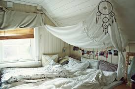 ... Comforter That When I Fall Into Bed I Sink 3 Inches.....and Draping  Some Fabric Or Curtains From The Ceiling To Create My Own Bed U0027cloudu0027 If  You Will.