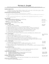 Aged Care Resume Template Child Examples Teacher Nurse R Netdevilzco Enchanting Resume Template Examples