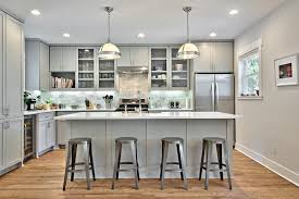 Light Kitchens 12 Gorgeous And Bright Light Gray Kitchens Table And Hearth