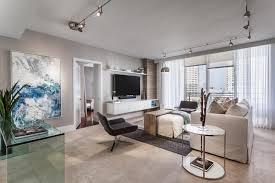 elegant track lighting. living room track lighting elegant landcape painting using sleek