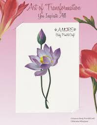 цветок лотоса временные тату
