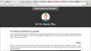 How To Code A Stylish Portfolio Design In Html Css Html Css Speed Coding Bootstrap Portfolio