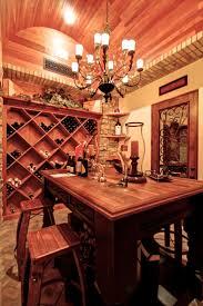 home wine cellar.