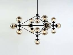 glass globe chandelier easy pieces modern chandeliers rh