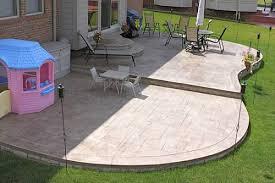 Beautiful Concrete Patio Designs Layouts Garden Adventure