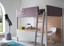 nidi camelot bunk bed with desk